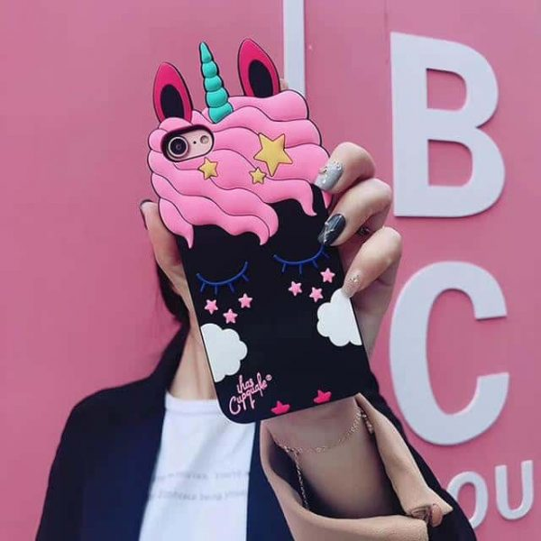 shell unicorn in 3d iphone black and pink iphone xs max at sell