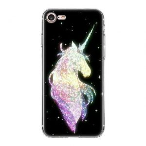 shell unicorn iphon black shiny xs max not dear
