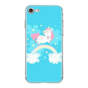 shell unicorn iphone blue fun xs max accessories phone unicorn