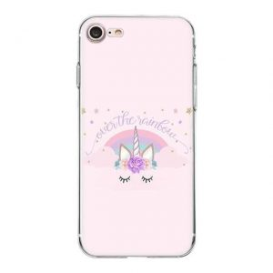 shell unicorn iphone over tea rainbow xs max not dear