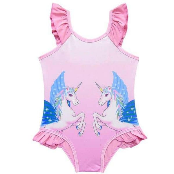 shirt of bath licornerose candy for girl 7 no dear