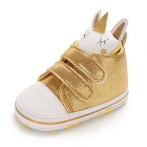 shoe unicorn baby gold 13 to 18 me unicorn backpack store