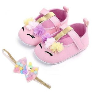shoe unicorn baby pink and gold 0 6 months price