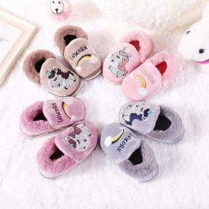 slipper unicorn child pink 25 buy