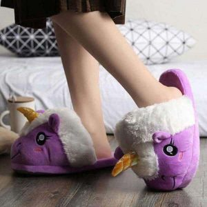 slipper unicorn purple 42 to sell