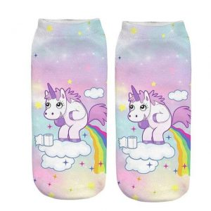 sock unicorn pooh bow in sky