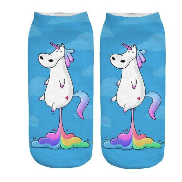 sock unicorn pooh multicolored price