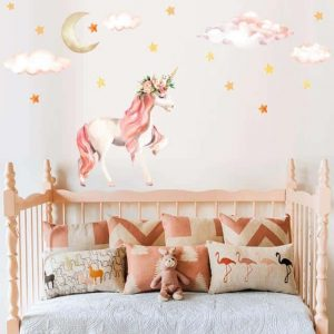stickers unicorn bedroom girl price