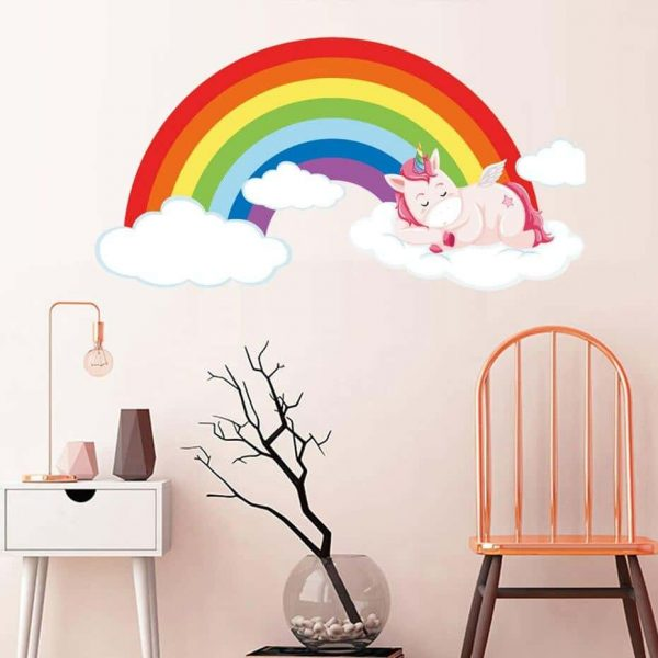 stickers unicorn bow in sky at sell