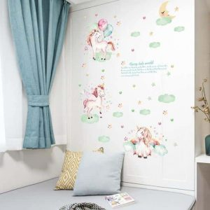 stickers unicorn mural full buy