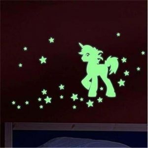 stickers unicorn phosphorescent buy