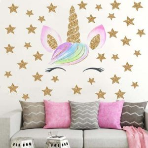 stickers unicorn sparkling decoration unicorn