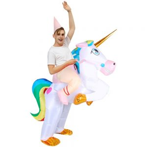 suit unicorn inflatable women not dear