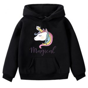 sweat unicorn black 10t not dear