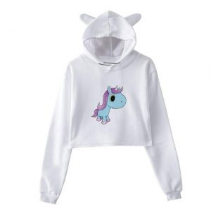 sweat unicorn crop top chibi xl price