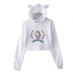 sweat unicorn crop top gift s price