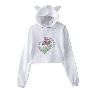 sweat unicorn crop top multicolored mr unicorn backpack store