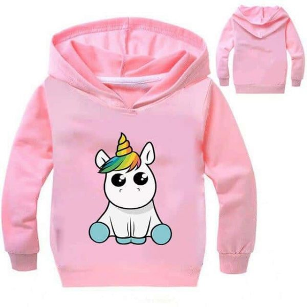 sweat unicorn kawaii grey 14