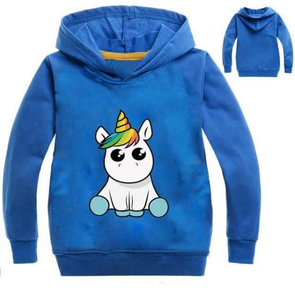 sweat unicorn kawaii grey 14 price