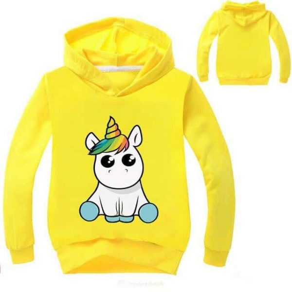 sweatshirt unicorn kawaii grey 14 no dear