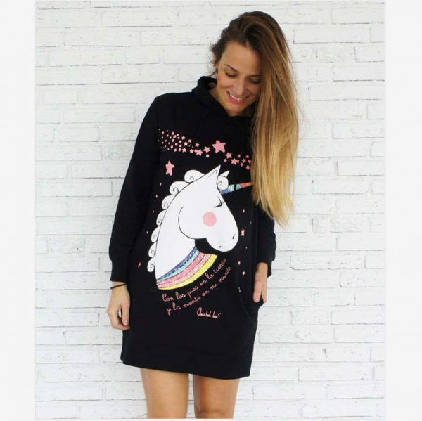 sweatshirt unicorn mother girl child 3 years unicorn backpack store