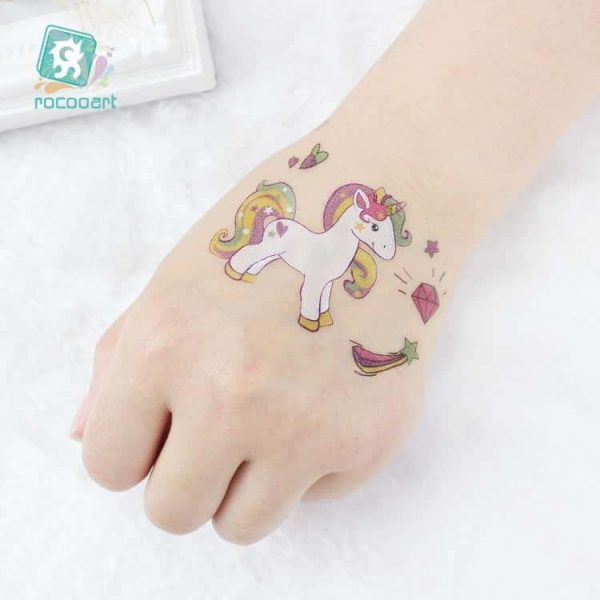 tattoo unicorn color at sell