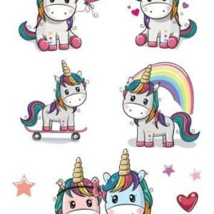 tattoo unicorn kawaii at sell