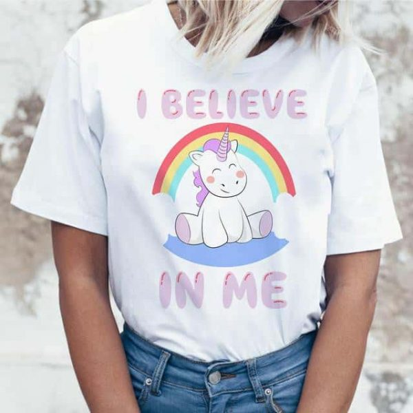 tee shirt unicorn bow in sky xxl at sell