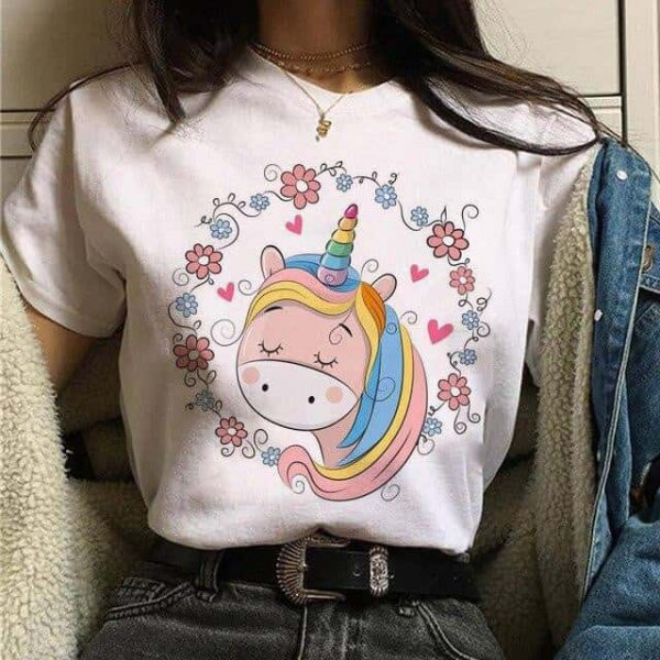 tee shirt unicorn flower xl buy