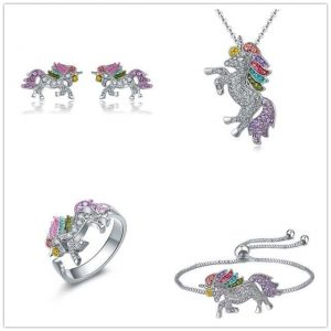 together unicorn in crystal at sell