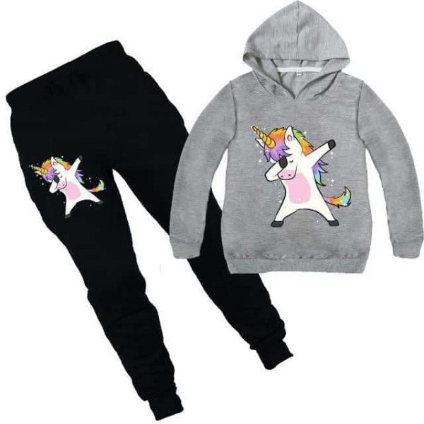together unicorn tracksuit grey dab 14 to sell