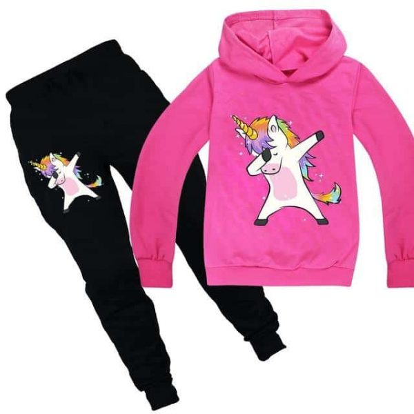 together unicorn tracksuit pink dab 14 no dear
