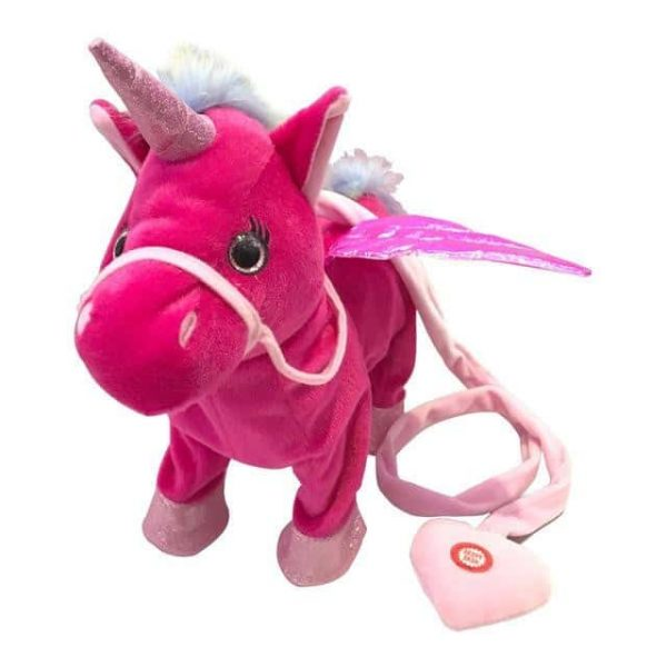 toy red unicorn electronic games and toy