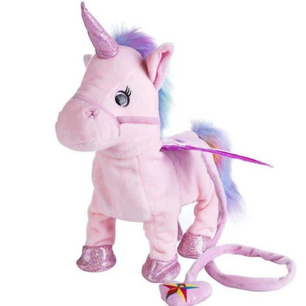 toy unicorn pink electronic not dear