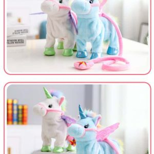 toy unicorn white electronic not dear