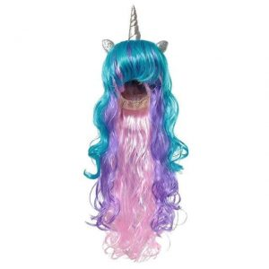 wig unicorn man disguise unicorn adult
